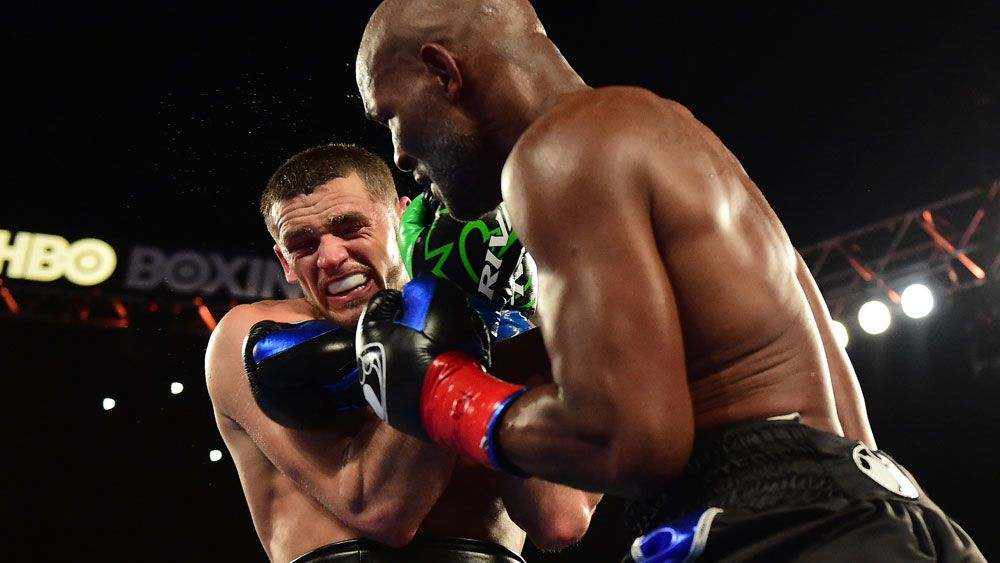 Bernard Hopkins (right). (AFP)