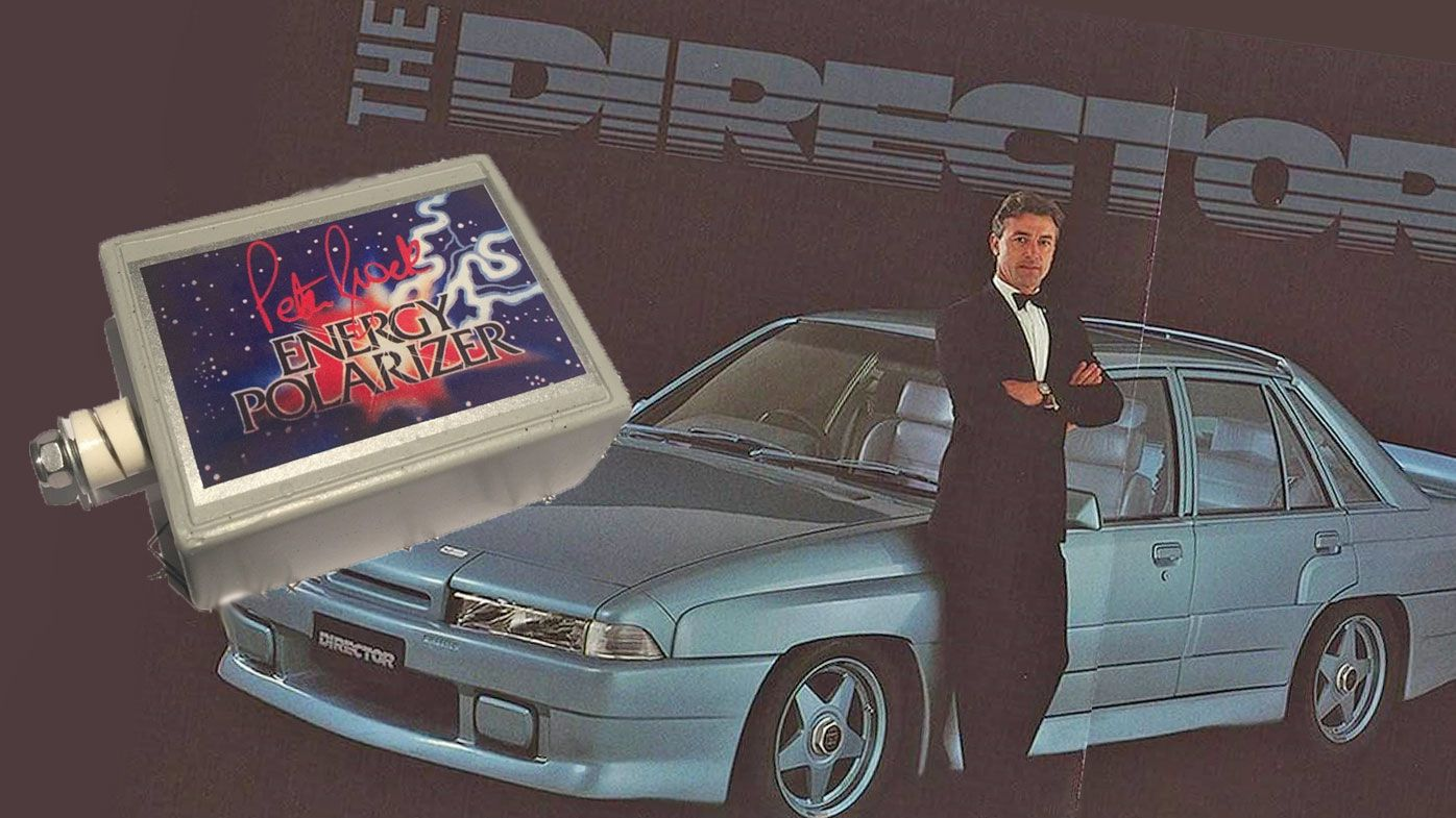 Peter Brock's Director and the dreaded Energy Polarizer