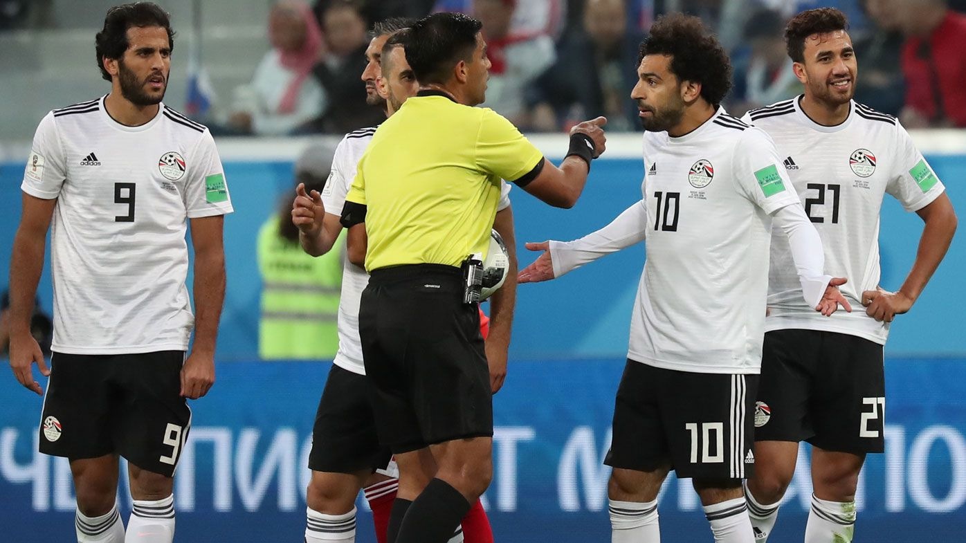 Egypt to complain over World Cup referee