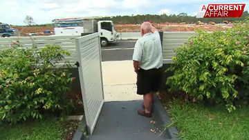 Four lane road built metres from residents' front doors