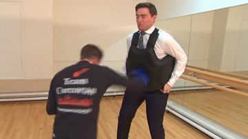 9NEWS reporter hit by Jeff Horn's next opponent