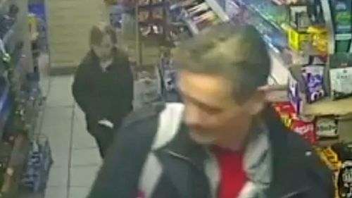 The eight-year-old was captured on CCTV with her father hours before she was killed in a 'clinical attack'.