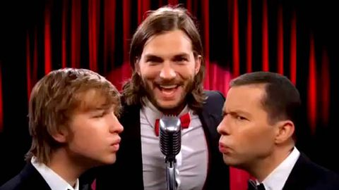 Watch now: Ashton Kutcher in the new Two and a Half Men intro