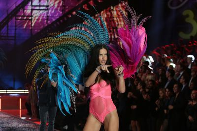 "Adriana Lima for Victoria's Secret.<span class=""Apple-tab-span"" style=""white-space: pre;"">		</span>"