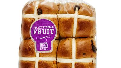 "<p><strong><a href=""https://www.coles.com.au/"" target=""_top"">Coles</a></strong> is bursting at the seams with their hot cross bun varieties this year. From traditional Fruit  6 packs and 9 packs to chocolate.&nbsp;</p> RRP - for ½ dozen is $3.50 and there's something for everyone."