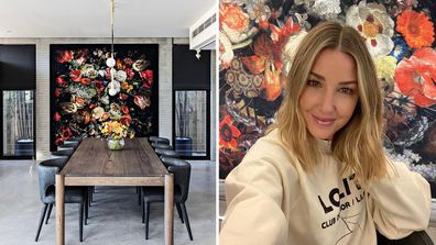 Jules Sebastian reveals the truth behind her unusual wall decor