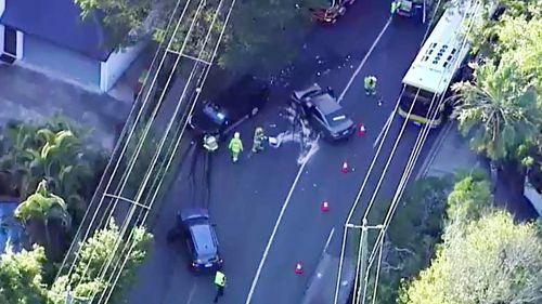 Man arrested after alleged stolen car involved in Brisbane crash
