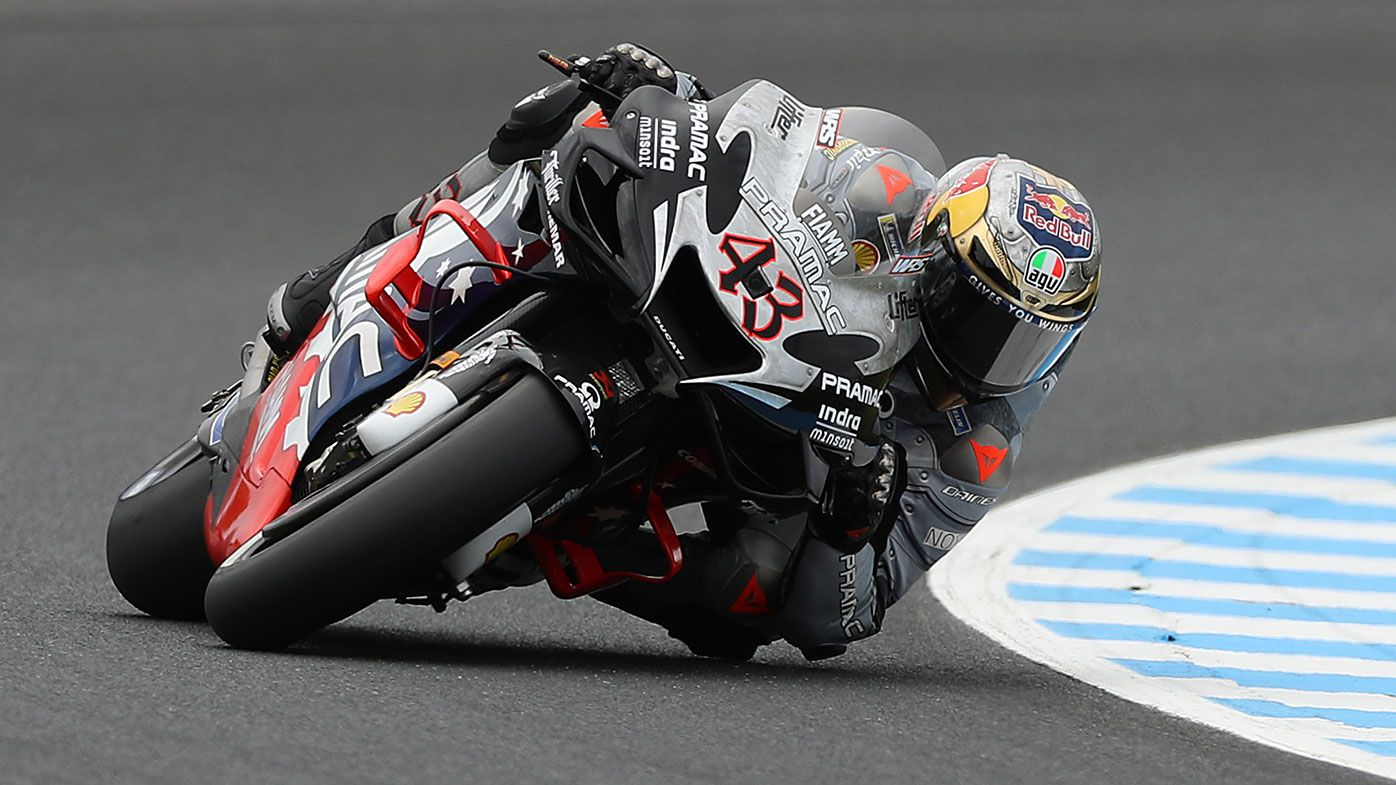 Australia's Jack Miller in action at Phillip Island.