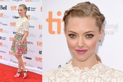 She then opted for a romantic floral look at the <i>While We're Young</i> premiere.