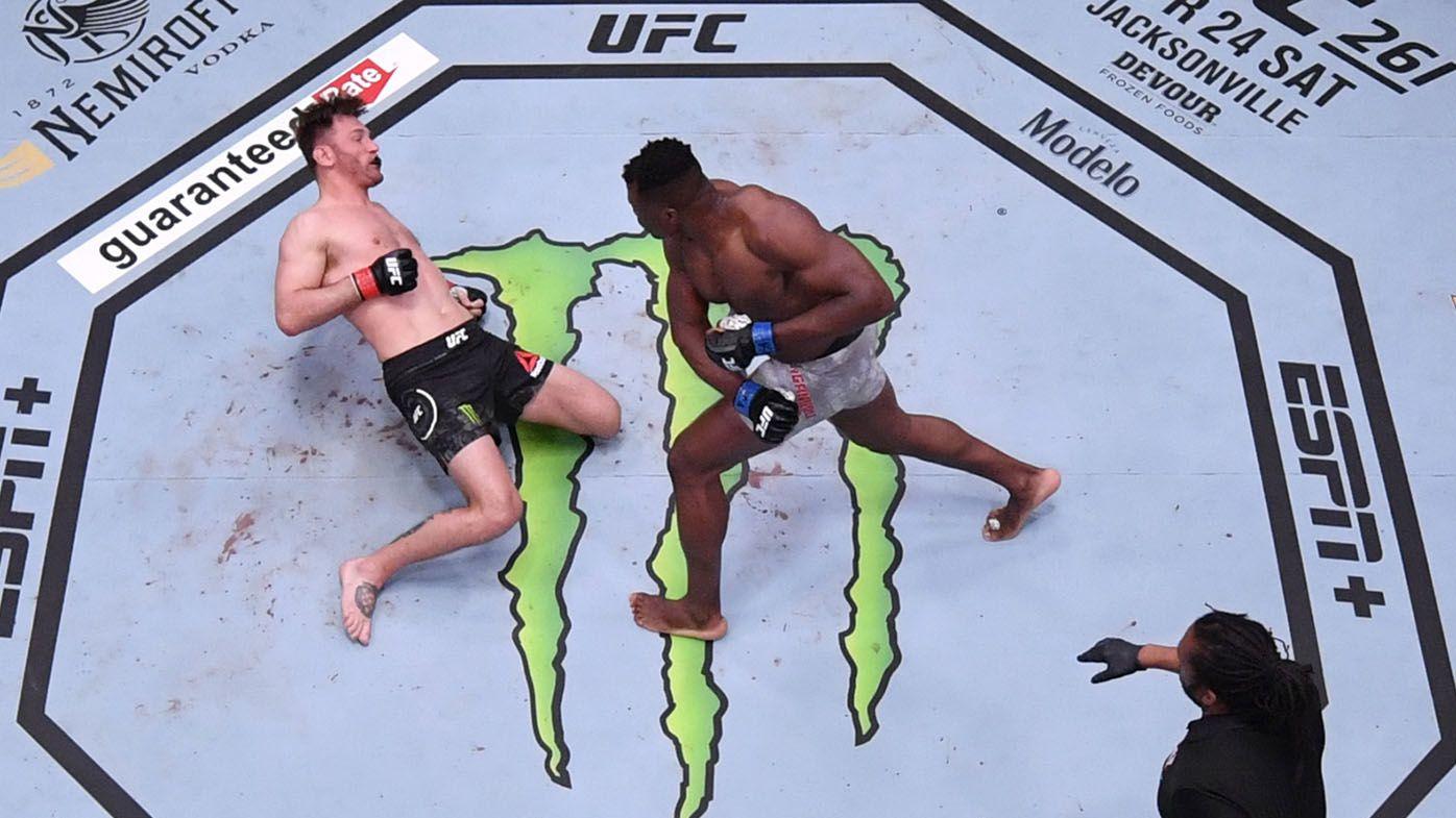 New UFC heavyweight champion Francis Ngannou vs Jon Jones in touted megafight