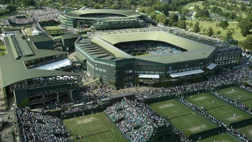 Three matches were allegedly fixed at Wimbledon. (AAP)