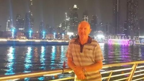 "John Murphy, 52, from London, has already spent six weeks in a ""baking hot"" prison eating ""rotting garbage"", according to Detained in Dubai."