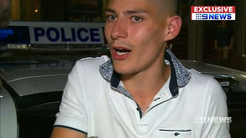 The 18-year-old spoke to 9NEWS today. (9NEWS)