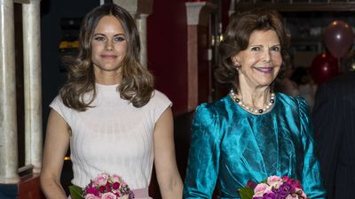 Princess Sofia and Queen Silvia of Sweden