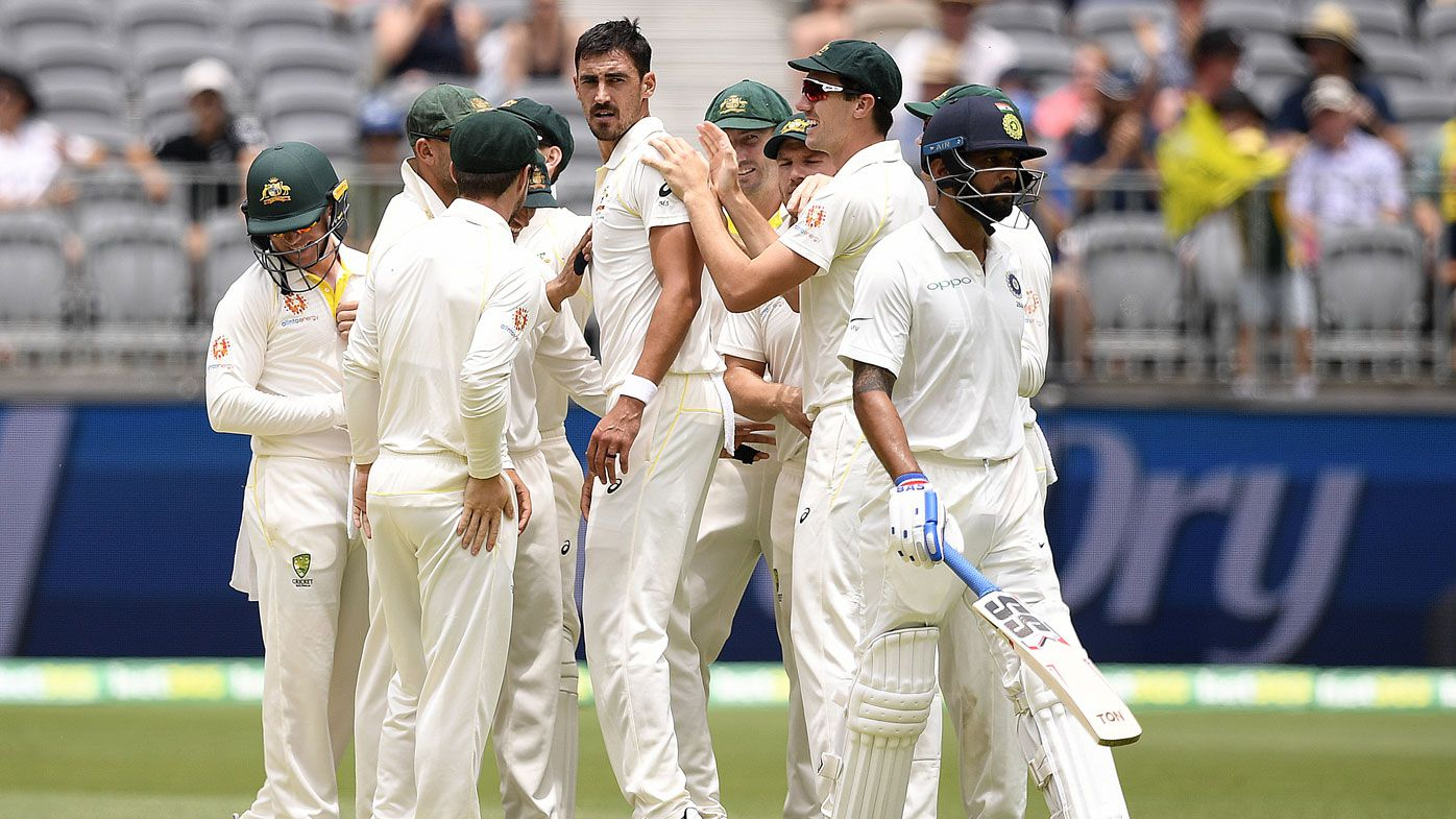 Mitchell Starc wastes no time firing back in Perth
