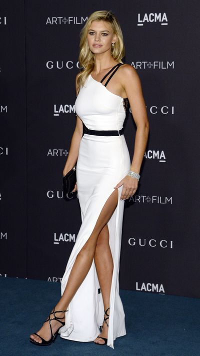 Kim Kardashian S Daring Sheer Jumpsuit Steals The Spotlight At The