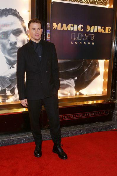 Channing Tatum, Magic Mike, premiere, London