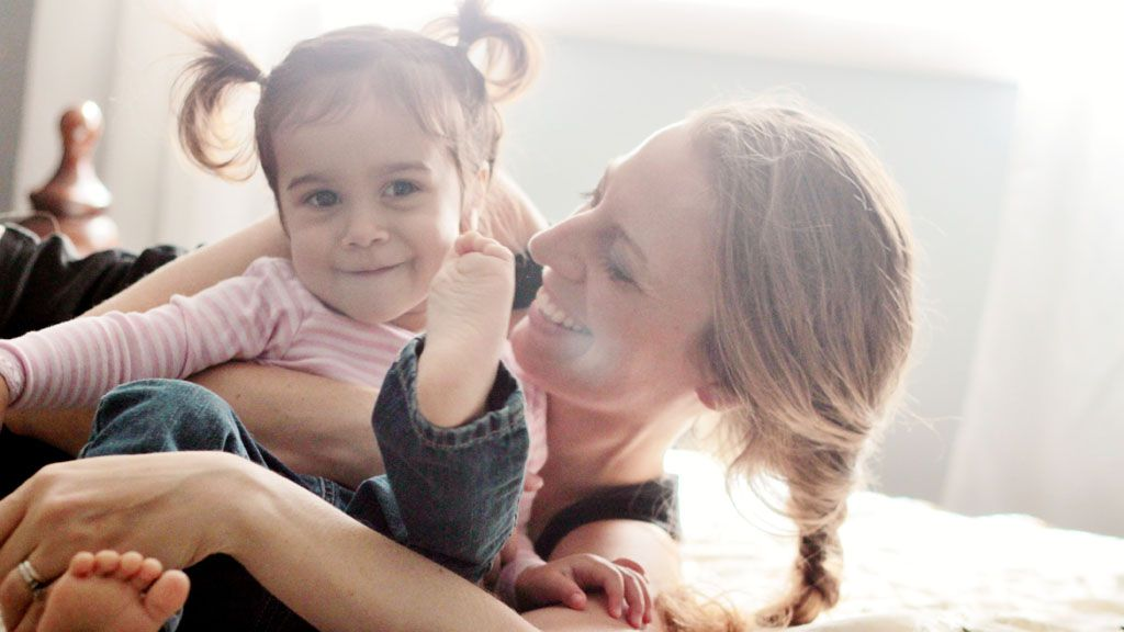 There's a trick to being a happy mum - nine in fact. Image: Getty.