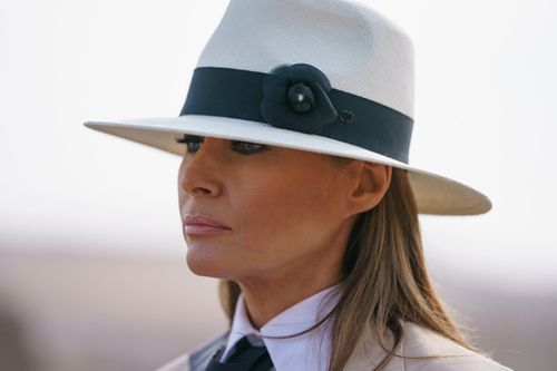 "First lady Melania Trump says she could be ""the most bullied person"" in the world, judging by ""what people are saying about me""."