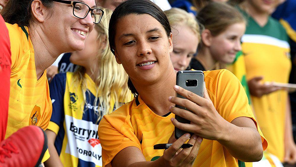 Football: Matildas star Sam Kerr named 2018 Young Australian of the Year