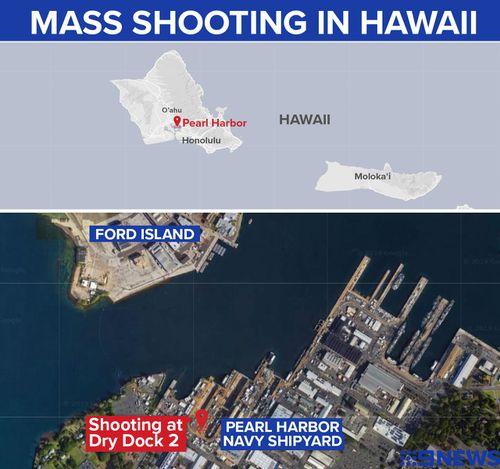 A mass shooting has put the Pearl Harbor Navy Shipyard in Hawaii into lockdown.