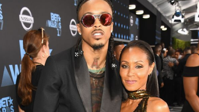 August Alsina and Jada Pinkett Smith at the 2017 BET Awards in 2017.