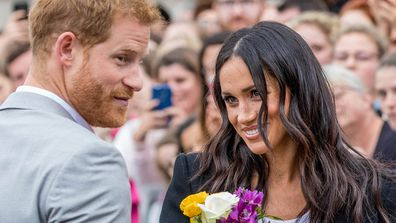 Harry proposed to Meghan in Africa.