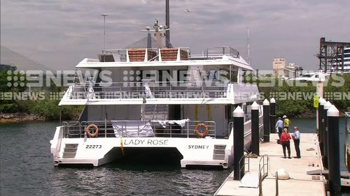Police are preparing a report for the coroner over the death of a woman on a party boat.