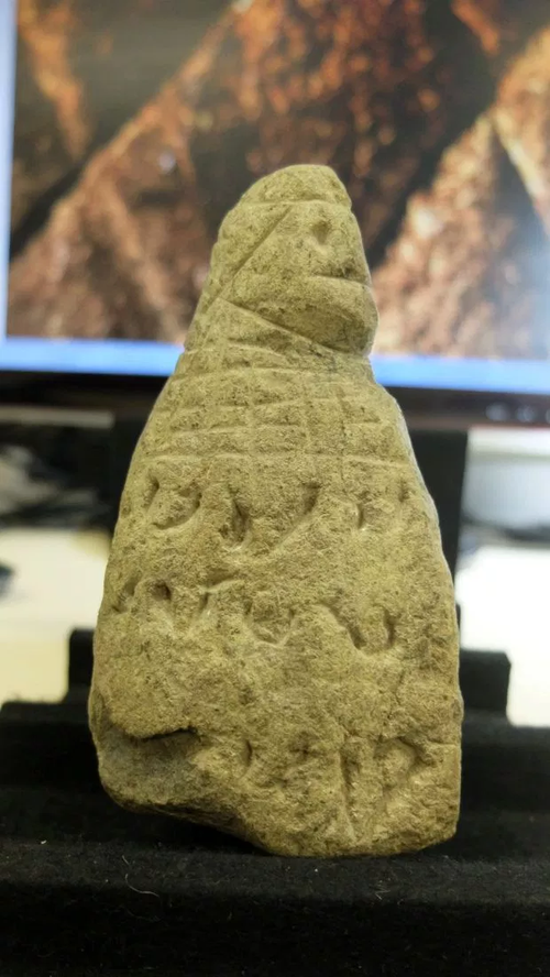 The mystery carvings could hold the key to a lost civilisation.  Picture: University of Haifa