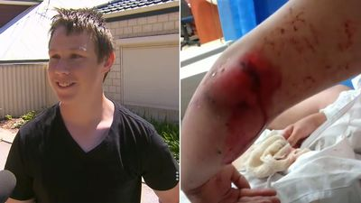 Teen run down on way to year 10 exam