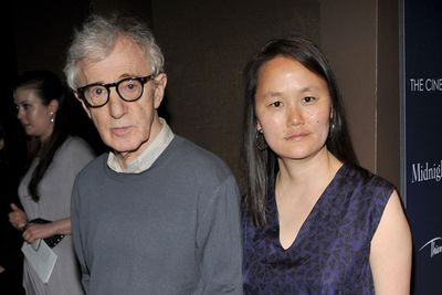 Woody Allen had been in a 12year relationship with actress, Mia Farrow, when she discovered nude pictures of her adopted daughter, Soon-Yi, then 21, in Woody's  apartment.  And yes, you could pretty much say Soon-Yi was Woody's step daughter by that stage. <br/><br/> Woody and Mia broke up and five years later Woody married…none other than Soon Yi. We don't think Soon Yi is embarrassed about her step-Dad's antics seeing as he is now her husband...so we'll be embarrassed (and totally freaked out) for her. <br/>
