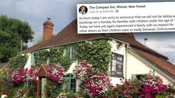 The Compass Inn, Winsor, kid ban