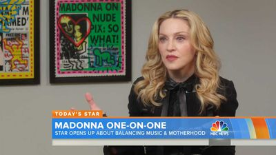 Madonna shares first family portrait featuring all six of her kids