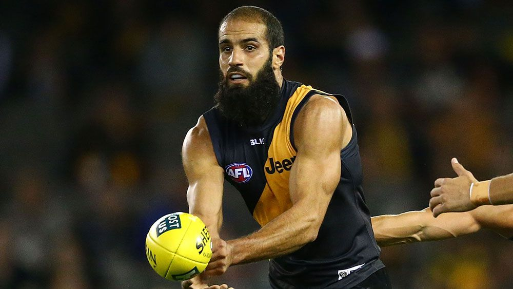 Bachar Houli headed straight to AFL tribunal after hit on Jed Lamb