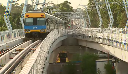 Three level crossings have been removed, there's another six to go on the train line. (9NEWS)