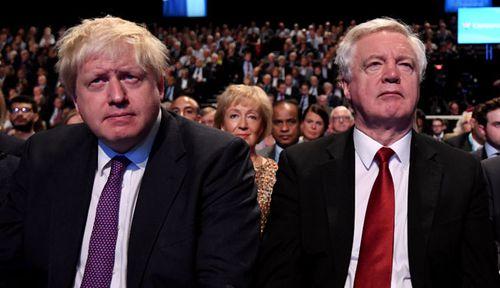 The resignations of Boris Johnson and David Davis have rocked the UK government. (Photo: AP).