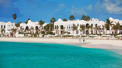 Belmond Cap Juluca is situated on picture-perfect Maundays Bay.