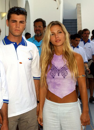 Elsa Pataky and Fonsi Nieto at the Nautic Club in Spain in 2003