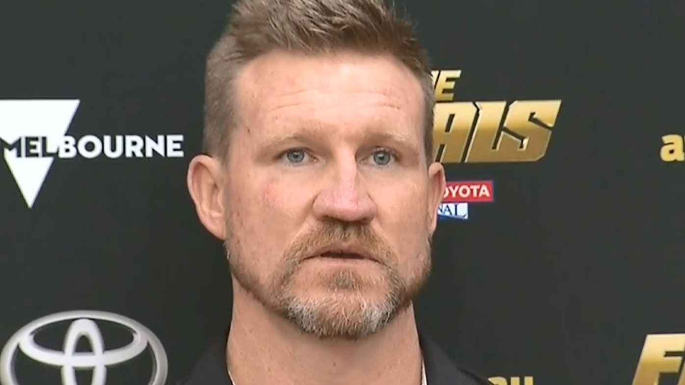 Collingwood coach Nathan Buckley 'numb' after crushing Grand Final loss
