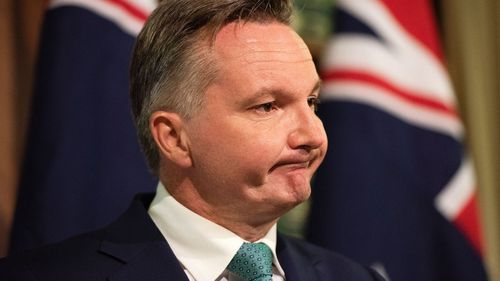 Shadow Treasurer Chris Bowen holds a press conference to discuss the final report of the Hayne Royal Commission into Banking in Melbourne.