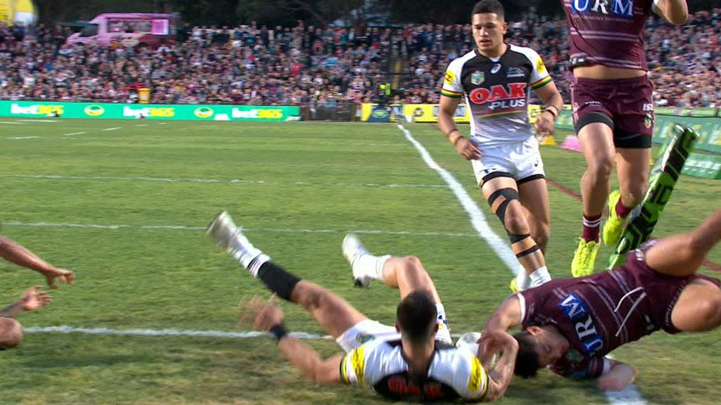 Kelly crosses for Manly
