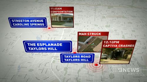 Police are investigating at three different locations. (9NEWS)