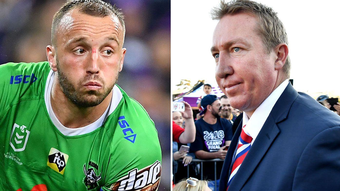 'All it does is add more pressure on the Roosters': Josh Hodgson fires back at Trent Robinson over strip rule