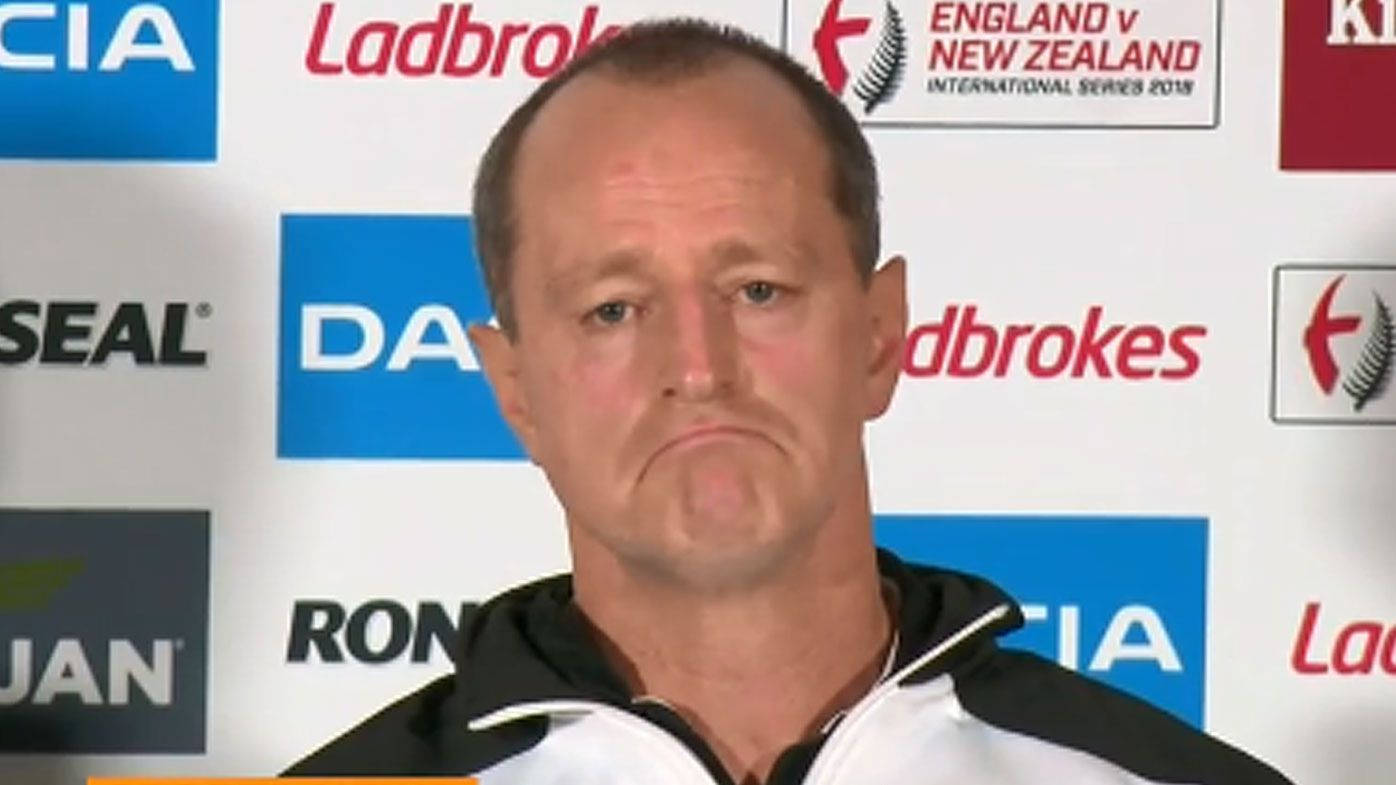 Michael Maguire was tight-lipped over his NRL coaching future