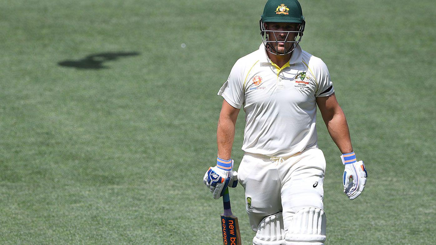 Darren Lehmann, Victoria say Aussie opener Aaron Finch 'deserved another chance' in fourth Test against India