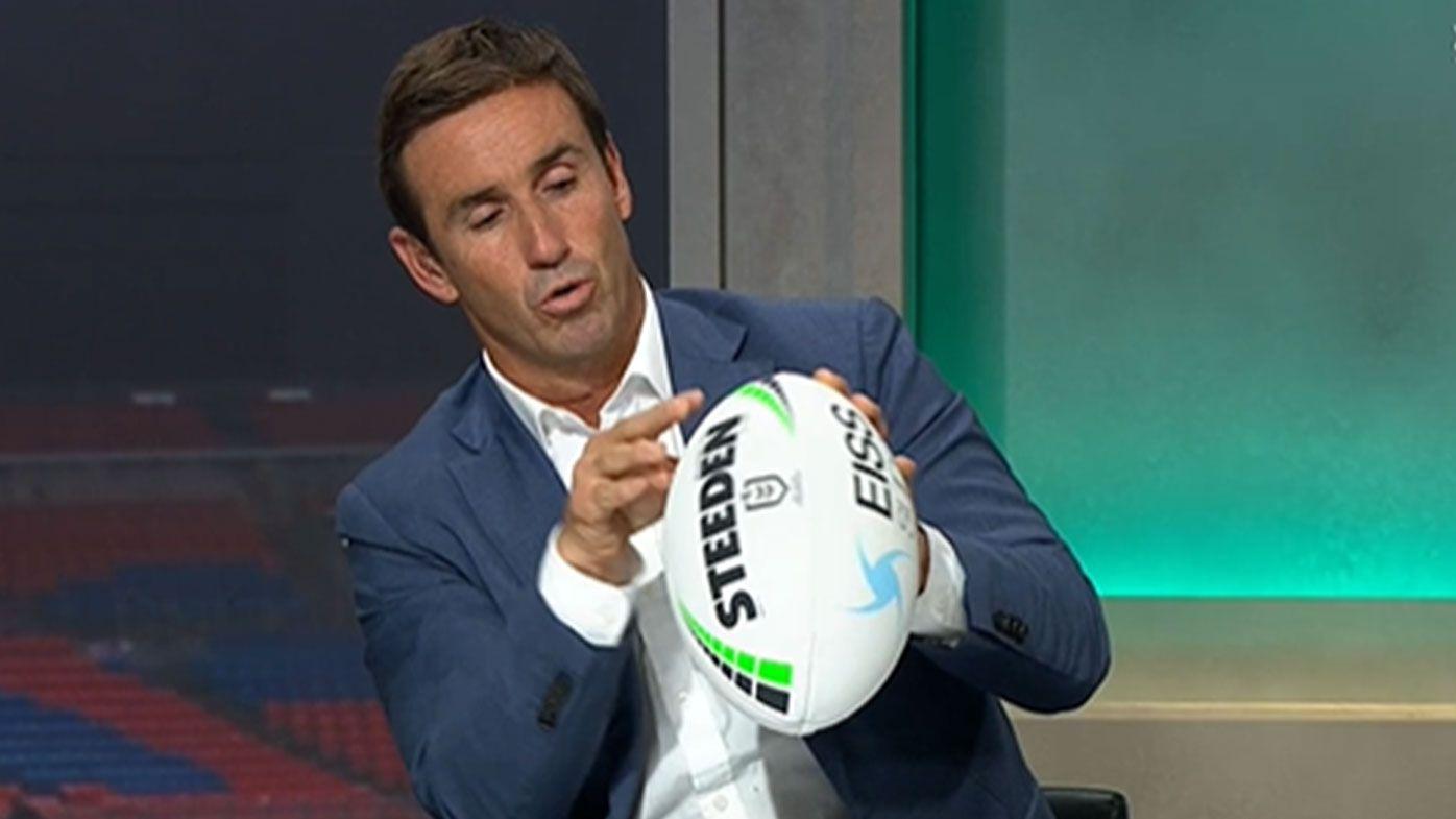 Andrew Johns floats radical idea for NRL ball revamp