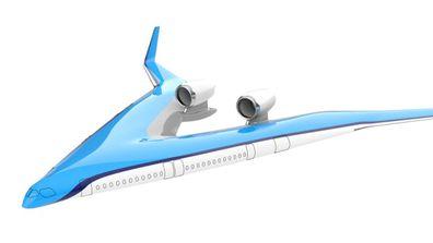 Flying-V plane