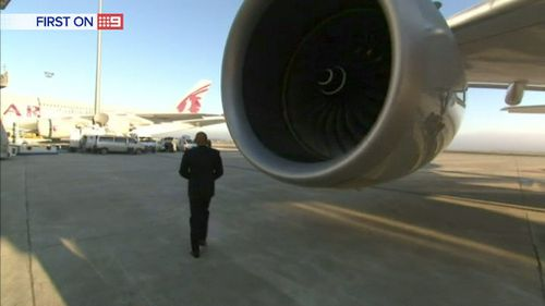 Rolls-Royce Trent XWB engines will power the mid-length A350. (9News)