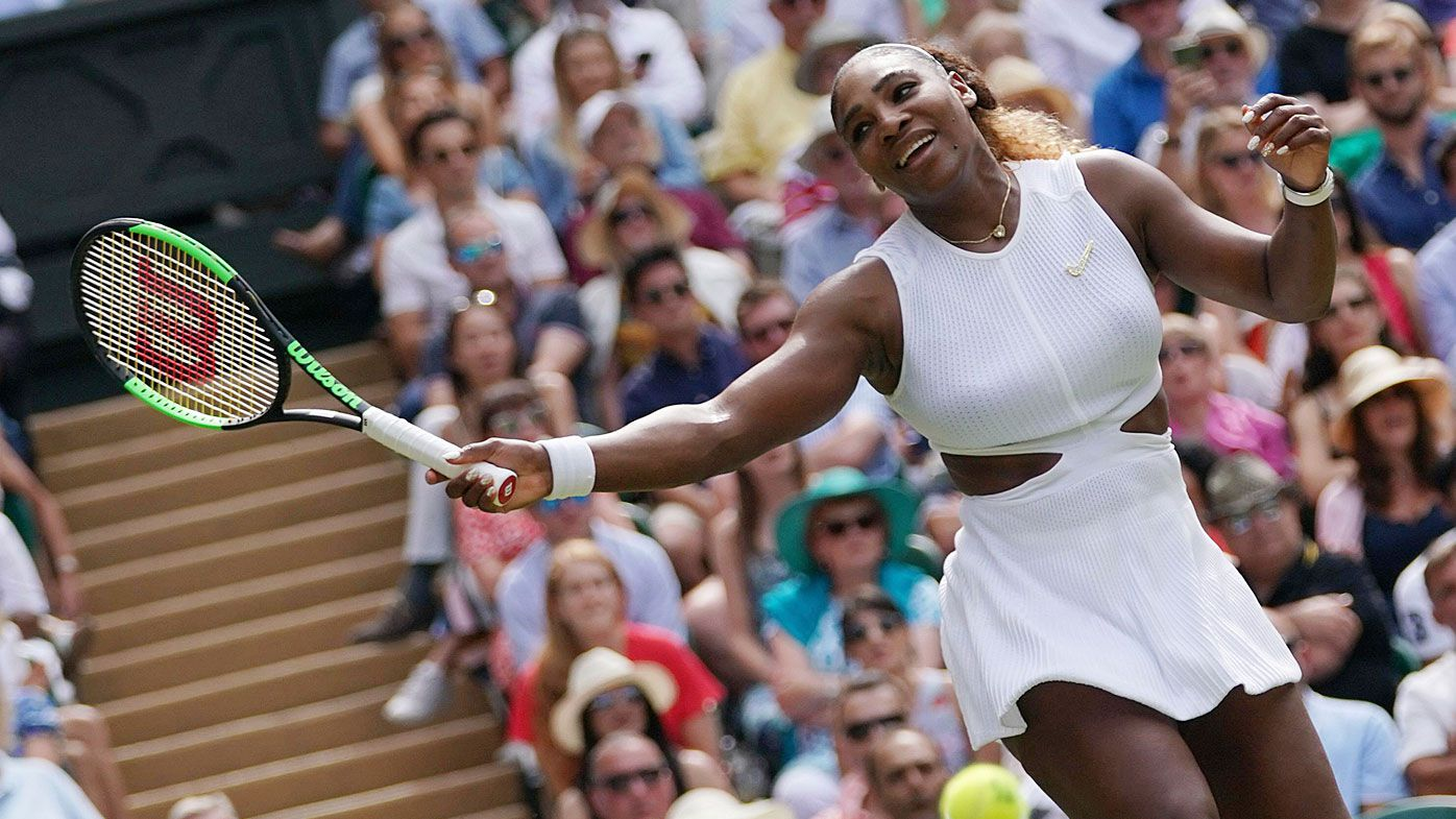 Serena Williams makes it to the Wimbledon final
