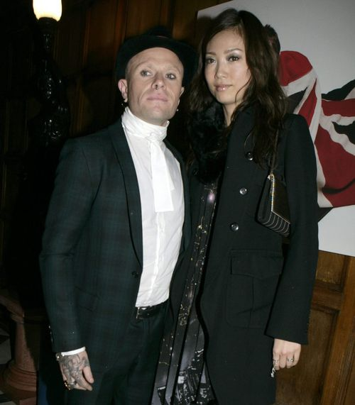 Keith pictured with wife Mayumi Kai who was believed to be in Japan at the time of his death.